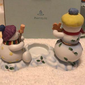 PartyLite Accents - Partylite Snowbell Kids Votive Holder